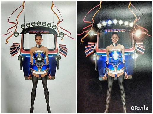 The Tuk Tuk Dress That Will Represent Thailand at Miss Universe