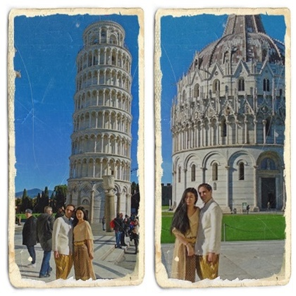 Around for Italy with a very special outfit -Pisa- part 4/7